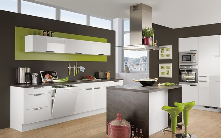 foggia hoogglans keuken i kook. Black Bedroom Furniture Sets. Home Design Ideas