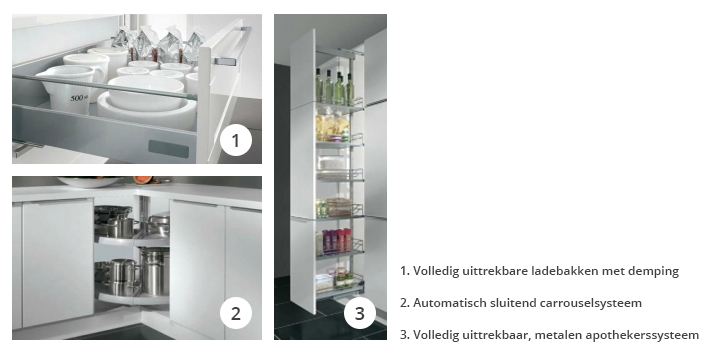 Apothekerskast Keuken Afstellen : Natuurlijk kan je ook bij alle andere systeemkasten rekenen op