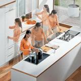 Ergonomie in de keuken door maatwerk van I-KOOK