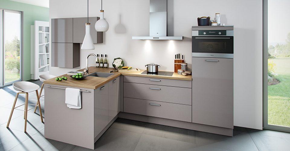 Moderne Hoogglans Keuken : Brillant hoogglans keuken met moderne uitstraling i kook