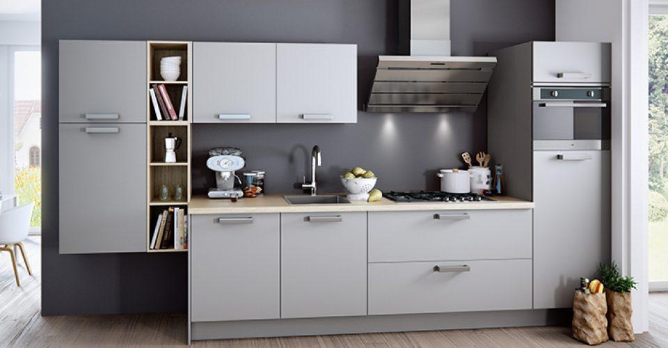 Moderne Hoogglans Keuken : Laser moderne hoogglans keuken i kook