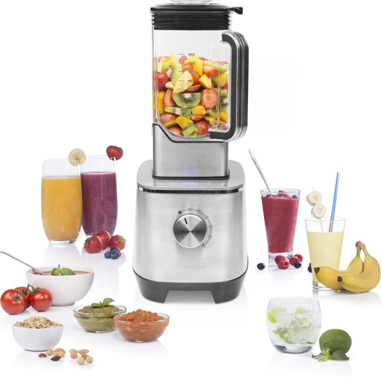 Gezond eten bereiden in de keuken: Princess blender 219500 High Speed Deluxe