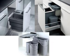 Keuken afval oplossingen: afval scheiden met Nobilia inbouw afvalsystemen