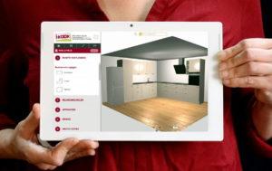 Online keukens oriënteren en start met de I-KOOK online keukenplanner
