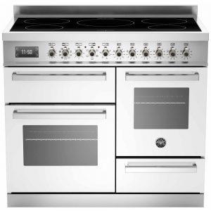 Bertazzoni Professional Series inductie fornuis met 2 ovens voor de landelijke moderne keuken