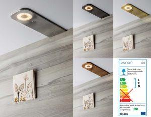 Lanesto LED spots Ischia Gold, Copper, Gun Metal en RVS + dimmer - keukentrend 2020