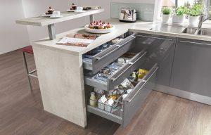 Keukenindeling voor de linkshandige kok: Nobilia keukenladen praktisch voor zoveel rechts- als linkshandigen