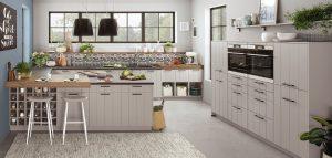 L-keuken of U-keuken: Nobilia landelijke U vorm keuken Gent 741