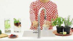 Keukentrend 2019: Selsiuz by Gessi kokend-water-kraan die ook bruist