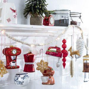 Kersthangers in keukenapparaten figuren, Intratuin kerst 2020