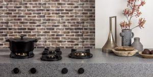 PITT cooking Professional op Evora Ceramics keukenblad – Dekker Zevenhuizen