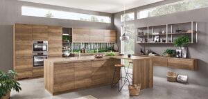 Decor houten keuken, Nobilia