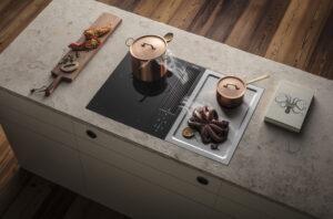 Inductie kookplaat met afzuiging, BORA Classic