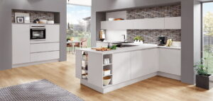 Moderne keuken greeploos, Nobilia