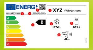 Nieuw energielabel koelkast, vriezer en koel-vriescombinatie