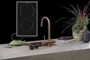 Kleine spoelbak & kleine inductie kookplaat, Lanesto & ETNA