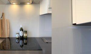 Keuken achterwand glas platen